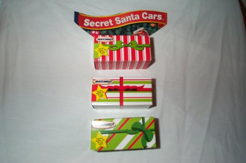 Matchbox Secret Santa Car by Mattel