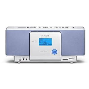 : ケンウッド CD/SD/USBパーソナルシステム (ブルー) CR-A7USB-L