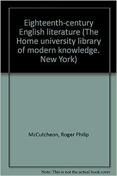 18th century english literature