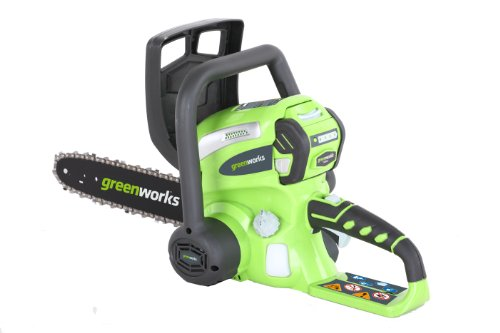 Greenworks 20082A 40-Volt 4 Amp-Hour Cordless Lithium Ion 12-Inch Chain Saw