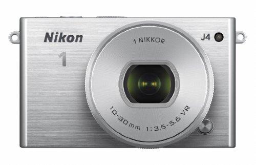 Nikon ミラーレス一眼 Nikon1 J4 標準パワーズームレンズキット シルバー J4HPLKSL