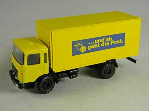 conrad-man-truck-deutsche-post-yellow-1-50-cd3148