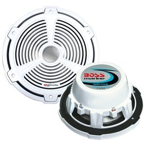 BOSS AUDIO MR105 Marine 10 inch Single Voice Coil (4 Ohm) 100-watt Subwoofer primary
