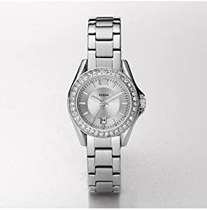 Fossil Women's ES2879 Riley Mini Stainless Steel Watch