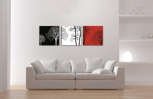 Quadro su tela arte moderna 150 x 50 cm 3 tele modello nr xxl 4208 i quadri sono montati su - Quadri moderni cucina ...