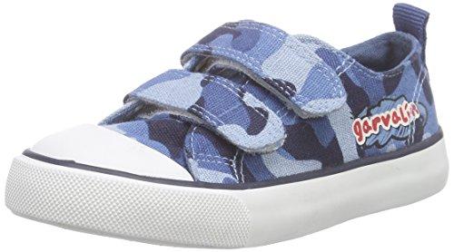 Garvalín 162375 - Sneaker  Bambini E Ragazzi, Blu (AZUL ESTAMPADO MILITAR), 27