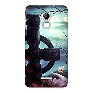 Special Crossed Circle Multicolor Back Case Cover for Coolpad Note 3