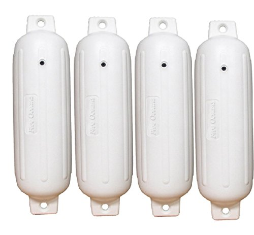4 Inflatable Boat Fenders - 20'' X 5-1/2'' Hull Board Fender - Five Oceans (QTY=4) primary