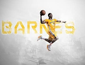 Harrison Barnes 25x14 inch Plastic Poster - Waterproof - Anti-Fade - Can Use On Outdoor/Garden/Bathroom - EPPAAEF by Plastic Poster