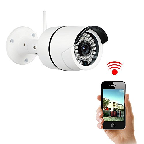 Fantastic Deal! NexGadget Home Security Camera Waterproof Wireless IP Camera, IR-Cut Night Vision, M...