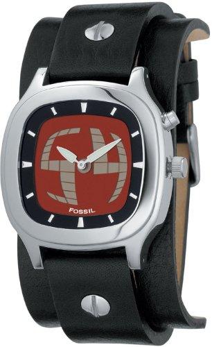 FOSSIL (フォッシル) 腕時計 BIGTIC レッド/ネガティブパネル JR8292 ユニセックス [正規輸入品]