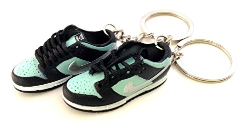 Pair Air Dunk Low Pro PRM SB Tiffany Diamond Sneakers Shoes 3D Keychain (Aj Tiffany compare prices)
