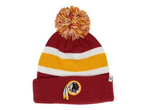 Nfl Washington Redskins Men'S Breakaway Knit Cap, One Size, Razor Red front-800764