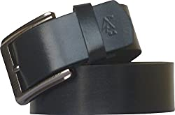 Sondagar Arts Men's Belt (SAB84_Black_42)