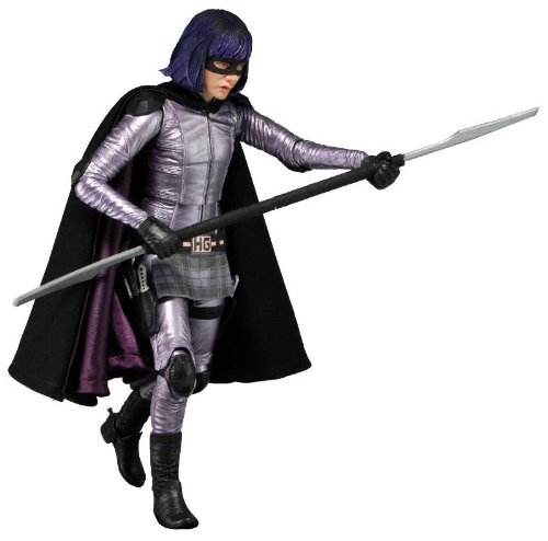 "Kick Ass 2 - Series 1 - Hit Girl 7 ""Action Figure"
