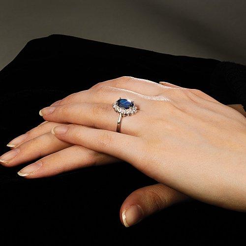 Created Sapphire Rings June 2011
