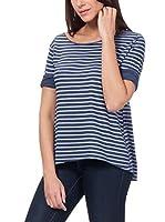 Tantra Camiseta Manga Larga Striped with back printed Star (Azul)