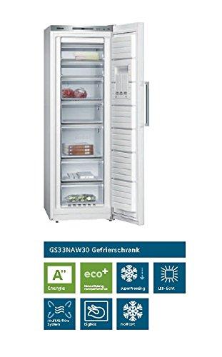 Siemens: Stand-Gefrierschrank GS33NAW30 220 l A++