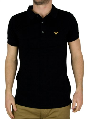 Voi Jeans Black Redford Polo Shirt
