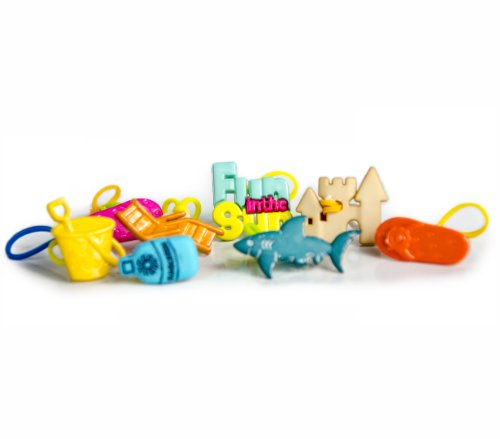 goloops! Around the World LIMITED SERIES EDITION Fun in the Sun (8 goloops! charms) - 1