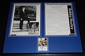 Buy Bobby Hurley Signed Framed 1992 Duke Yearbook 16x20 Photo Display PP by The Steel City Auctions Gallery