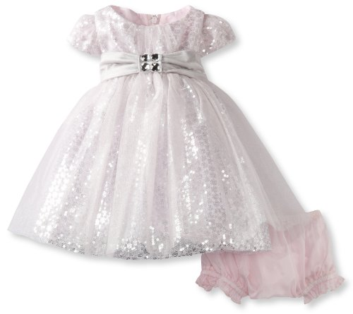 Today Biscotti Baby-girls Newborn Pretty Princess Short Sleeve Ballerina Dress, Silver, 09 Months  Review
