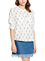 Lee Blusa Oversized Drapey Shi Cloud Dancer (Crudo)