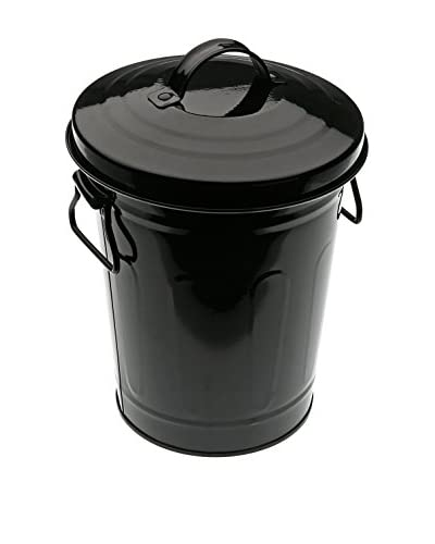 Zings Cubo De Basura 3 L Negro