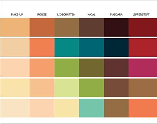 make up pass farbpass herbsttyp 30 farben make up farbkarte. Black Bedroom Furniture Sets. Home Design Ideas