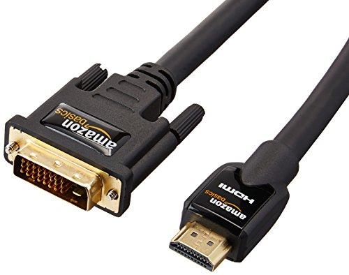 Amazonベーシック HDMI-DVI 変換ケーブル 7.6m (タイプAオス- DVI24pinオス)