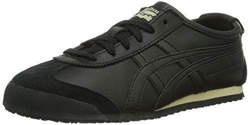 Onistuka Tiger Mexico 66 - Sneakers Basse da unisex da adulto, colore nero (black/black 9090), taglia 40.5