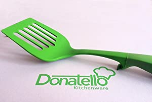 Donatello® Classic Nylon Spatula Turner -Green