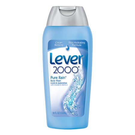 Lever 2000 Body Wash, Pure Rain, 18-Ounce Bottles (Pack of 6) (Pure Rain compare prices)