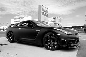 Amazon.com: Nissan R35 GTR GT-R Skyline VR38DETT Right Side Black and