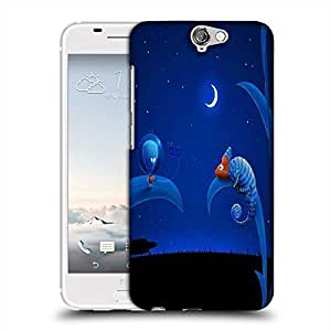 Snoogg Chameleon Alien Designer Protective Phone Back Case Cover For HTC one A9