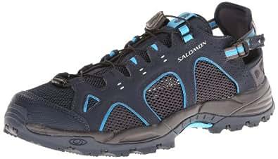 Salomon Techamphibian 3 Men Outdoor Schuhe deep blue-autobahn-fluo blue - 41 1/3