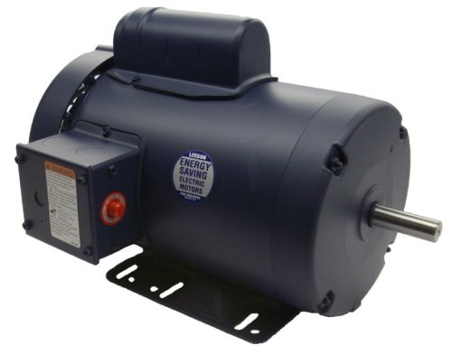 2Hp 1725Rpm 145T Frame Tefc 115/208-230 Volts Leeson Electric Motor # 120867