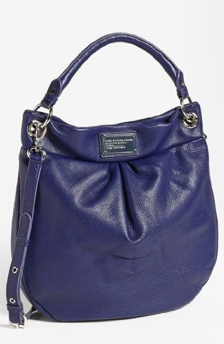 Marc Jacobs Classic Q Hillier Hobo Bag in Electric Stage Blue by Marc by Marc Jacobs