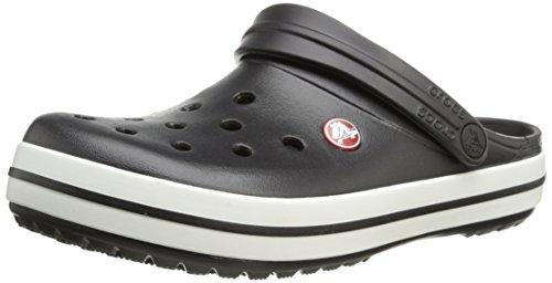 Crocs Crocband Sabot U, Ciabatte Unisex Adulto, Nero (Black), 46/47 EU