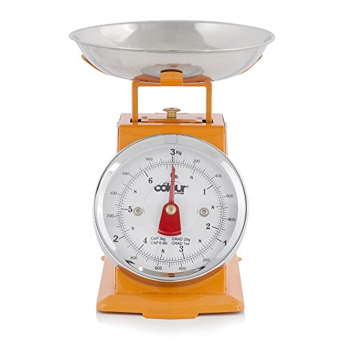 Cook Incolour MCK21004 Mini Balance de cuisine traditionnelle-Orange