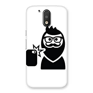 Ajay Enterprises Classic Beardys Back Case Cover for Motorola Moto G4