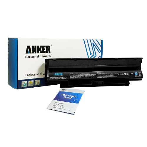 Anker New Laptop Battery for Dell Inspiron 15R 17R 14R 13R N5110 N5010 N4110 N4010 N7110 N3010 M5110 M4110 M501 M503 Series, Fits P/N J1KND 4T7JN 312-0234 - 18 Months Agreement [Li-ion 6-cell 4400mAh/49WH]