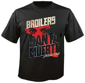 BROILERS - Santa Muerte - T-Shirt Größe S