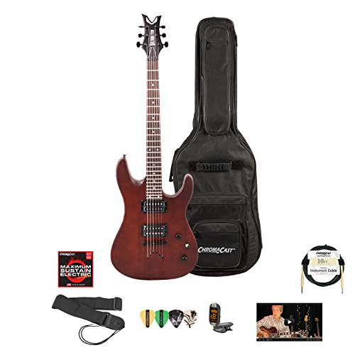 Dean Vn Xm Sn Electric Guitar With Lesson, Chromacast Gig Bag, Strings, Strap, Cable, Tuner And Picks
