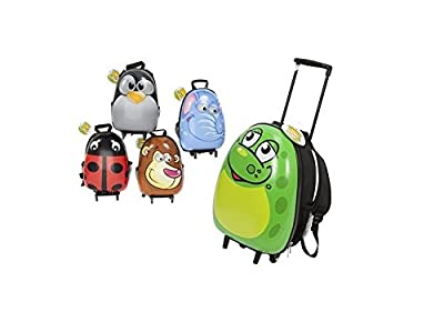 New Egg Shaped Shiny Animal Hard Shell Childs Trolley Case Luggage Suitcase Backpack by PMS