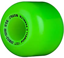 Powell Peralta Mini Cubic Skateboard Wheels 64mm 95A (Green)