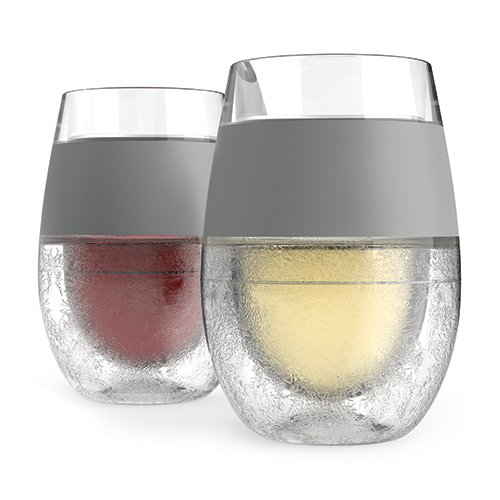 FREEZE  Cooling Wine Glasses (Set of 2) by HOST (Insulated Acrylic Glasses compare prices)