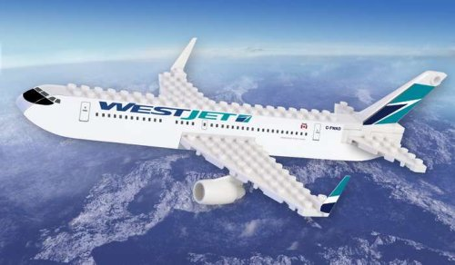 Daron Westjet Construction Toy (55-Piece)