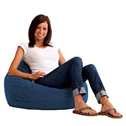 Comfort Research Ultra Lounger in Comfort Suede, Blue Sky