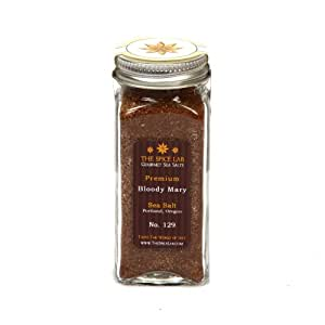 The Spice Lab Premium Gourmet Bloody Mary Infused Sea Salt, Portland